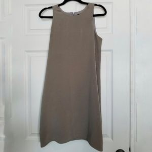 Theyskens Theory Dugs gray shift silk dress sz. 4